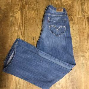 Levi's Women's 529 Curvy Bootcut Jeans Size 12